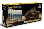 WWII-MILITARY-ALLIED-ARMY-6-ks-20ml