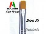 Brush-Synthetic-Flat-plochy-synteticky-stetec-velikost-10