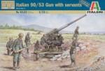 1-72-Italian-90-53-Gun-w-Servant