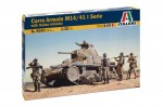 1-35-CARRO-ARMATO-M14-41-I-SERIE-with-Italian-Infantry