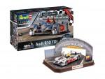 1-24-Audi-R10-TDI-+-3D-Puzzle-LeMans-Racetrack