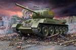 1-72-Russian-T-34-85-Rotating-turret