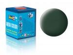 Matna-tmave-zelena-dark-green-mat-RAF-18-ml-akryl