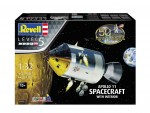 Model-set-1-32-pollo-11-Spacecraft-with-Interior-50-Years-Moon-Landing