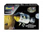 Model-set-1-32-pollo-11-Spacecraft-with-Interior-50-Years-Moon-Landing