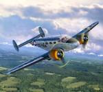 1-48-Beech-C-45F-USAF-commuter-aircraft