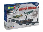 1-72-100-Years-RAF-British-Legends-Model-Set-model+barvy+lepidlo+stetec