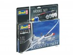 1-32-Gliderplane-DUO-DISCUS-and-ENGINE-Model-Set-model+barvy+lepidlo+stetec