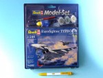 1-144-Eurofighter-Typhoon-Model-Set-model+barvy+lepidlo+stetec