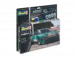 1-24-Porsche-934-RSR-Vaillant-Model-Set-model+barvy+lepidlo+stetec