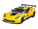 1-25-Corvette-C7-R-Model-Set-model+barvy+lepidlo+stetec