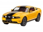 1-25-2010-Ford-Mustang-GT-Model-Set-model+barvy+lepidlo+stetec