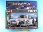 1-24-Audi-R8-Model-Set-model+barvy+lepidlo+stetec