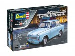 1-24-Trabant-601S-60-Years-of-Trabant-Model-Set-model+barvy+lepidlo+stetec