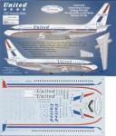RARE-1-144-Boeing-737-200-UNITED-Classic-Stars-and-Bars-scheme-72-city-names