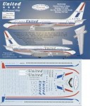 RARE-1-144-Boeing-737-200-UNITED-Classic-Stars-and-Bars-scheme-72-city-names