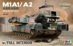 1-35-M1A1-A2-Abrams-w-Full-Interior-2-in-1