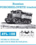 RARE-1-35-Russian-Voroshillovetz-Tractor