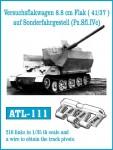 RARE-1-35-Versuchsfakwagen-8-8-cm-Flak-41-37-auf-Sonderfahrgestell-Pz-Sfl-IVc