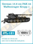 RARE-1-35-128cm-PAK-44-Waffentrager-Krupp-1