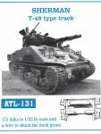 RARE-1-35-SHERMAN-T-49-type-track
