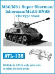 1-35-M-50-M-51-Super-Sherman-Isherman-M4A3-HVSS-T-80-Type-track