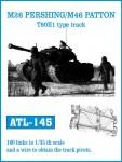 RARE-1-35-M26-PERSHING-M46-PATTON-T80E1-type-track