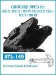 RARE-1-35-GROUSER-SPUD-for-MK-II-MK-IV-MK-IV-TADPOLE-TAIL-MK-V-MK-IX