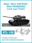 1-35-M46m-M47-PATTON-M26-PERSHING-track-type-T84E1