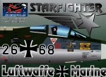 1-144-German-Air-Force-TF-104G-Starfighter-Wing-markings-Zappings-and-Stencilling