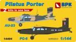 1-144-Pilatus-Porter-PC6-AU23-2-kits-included
