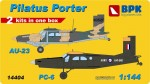 1-144-Pilatus-Porter-PC6-AU23-2-kits-included