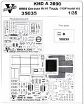 1-35-KHD-A3000-WWII-German-army-truck-for-ICM-kit