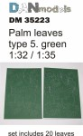 1-35-Palm-leaves-type-5-Green