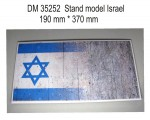 Stand-model-for-1-35-Israel-theme-190x370mm
