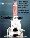 1-35-Country-furnace-and-two-figures-resin-from-ASR-sculpture