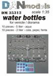 1-35-Water-bottles-for-vehicle-diorama-20-pcs