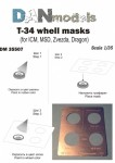 1-35-T-34-wheel-masks-for-ICM-MSD-Zvezda-Dragon
