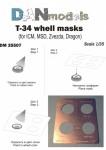 1-35-T-34-wheel-masks-for-ICM-MSD-Zvezda-Dragon