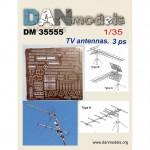1-35-Civil-TV-Antennas-3-pcs
