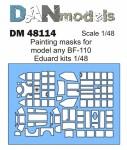 1-48-Painting-masks-for-model-BF-110-Eduard-kit