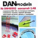 1-48-Mig-29-step-ladder-chocks-canopy-mirrors-aerial