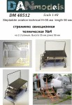 1-48-Stepladder-aviation-technical-4-2-steps-height-55mm