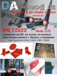 1-48-Su-27-exhaust-and-air-intakes-covers-and-decals-for-Academy-kit