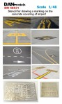1-48-Stencil-for-drawing-a-marking-on-the-concrete-covering-of-airport