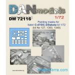 1-72-Painting-masks-for-C-47-DC-3-Dakota-for-Italeri-kit