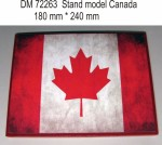 Stand-model-for-1-72-Canada-theme-240x180mm