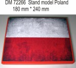 Stand-model-for-1-72-Poland-theme-240x180mm