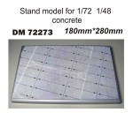 Stand-model-for-1-72-1-48-concrete-180x280-mm