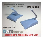 Aircraft-models-stands-2-pcs-FOR-1-48-1-72